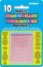 Pink Magic Re-Light Birthday Cake Candles